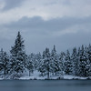 Winter on Mountain Lake