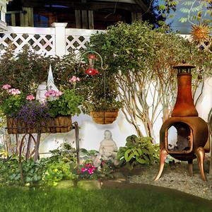 Backyard Flower Garden