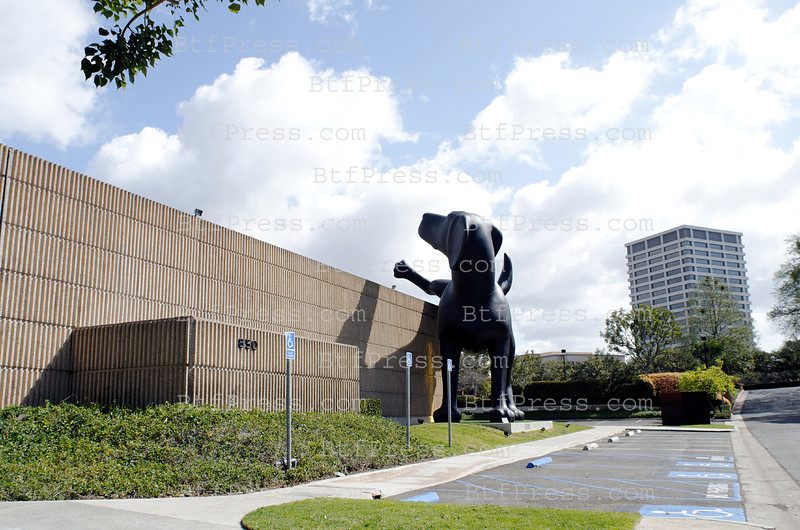 Sculpture BAD DOG by Richard Jackson