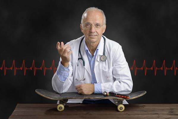Dr. Lothar Schrod, Nur mit Helm