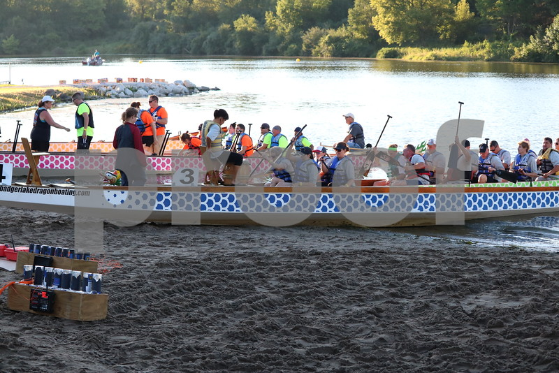 Badger Lake Dragon Boat Bash with Pop Rocks