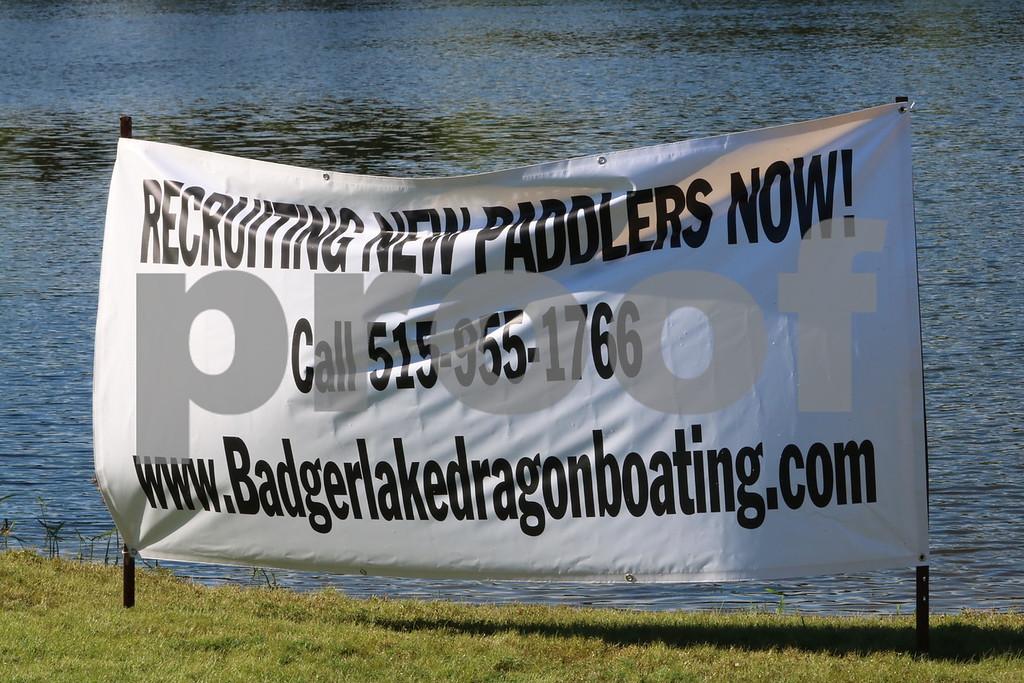 Badger Lake Dragon Boat Bash with PopRocks