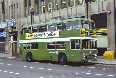 Bristol Omnibus Co 5007 Colston Ave Bristol Aug 85