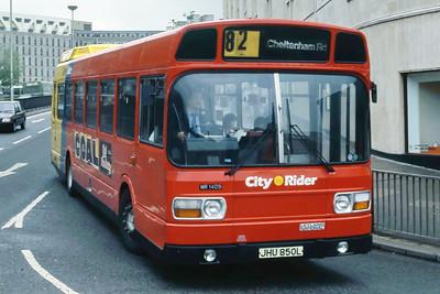 Bristol Omnibus Co 1409 Haymarket Bristol May 86