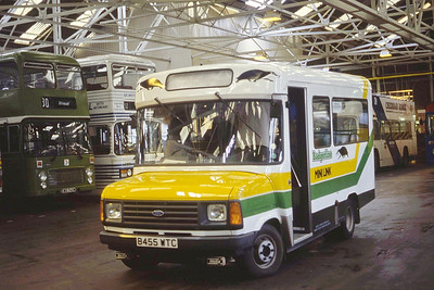 Bristol Omnibus Co 4455 Westen Super Mare Bus Stn Aug 85