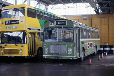 Badgerline 1157 Bristol Bus Stn May 86