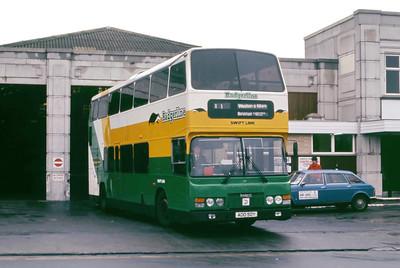 Badgerline 2350 Weston Super Mare Bus Stn May 86