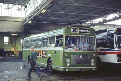 Bristol Omnibus Co 1797 Bristol Bus Stn Aug 85