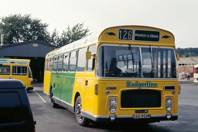 Badgerline 1336 Wells Depot May 86