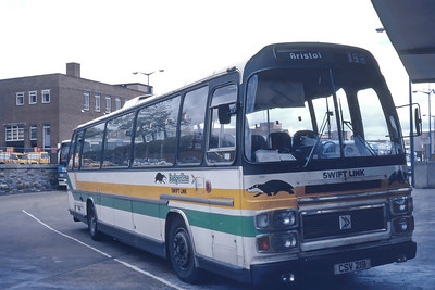 Badgerline 2081 Exeter Bus Stn May 86