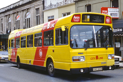 Bristol Omnibus Co 1438 Queens Rd Bristol Aug 85