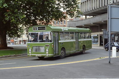 Bristol Omnibus Co 1329 Colston Avenue Bristol Aug 85