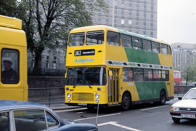 Badgerline 6510 Haymarket Bristol May 86