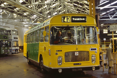 Bristol Omnibus Co 1297 Westen Super Mare Bus Stn Aug 85
