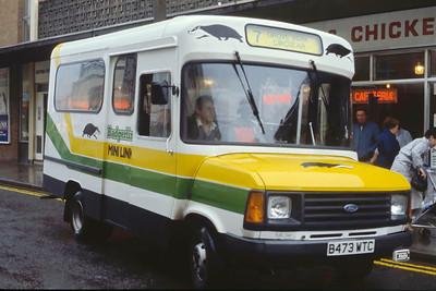 Bristol Omnibus Co 4473 Weston Super Mare 2 Aug 85