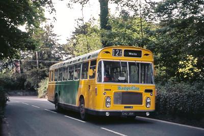 Badgerline 1336 Near Axbridge May 86