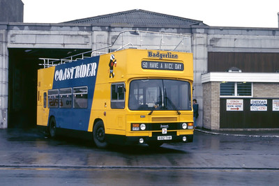 Badgerline 8612 Weston Super Mare Bus Stn May 86