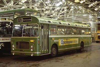 Bristol Omnibus Co 1272 Weston Super Mare Bus Stn Aug 85