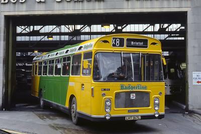 Bristol Omnibus Co 1313 Bristol Bus Stn 2 Aug 85