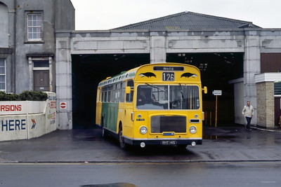 Badgerline 1092 Weston Super Mare Bus Stn May 86