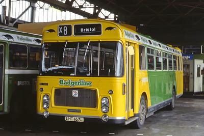 Bristol Omnibus Co 1313 Bristol Bus Stn 1 Aug 85
