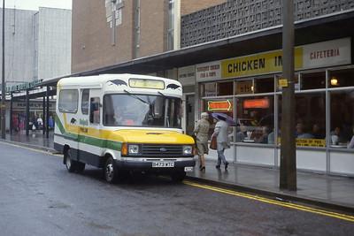 Bristol Omnibus Co 4473 Weston Super Mare 1 Aug 85