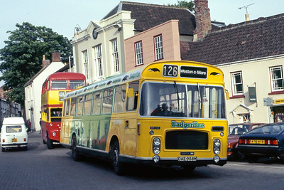 Badgerline, Bristol Omnibus Company and Cheltenham and Gloucester Buses and Coaches in the 1980's