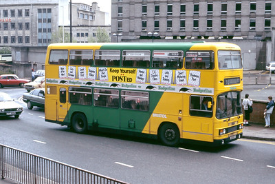 Badgerline 9514 Haymarket Bristol May 86