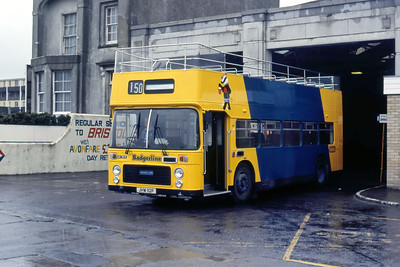 Badgerline 8618 Weston Super Mare Bus Stn May 86