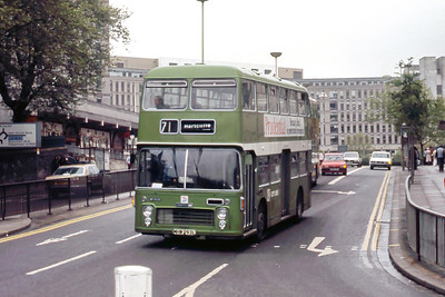 Bristol Omnibus Co 5023 Haymarket Bristol May 86