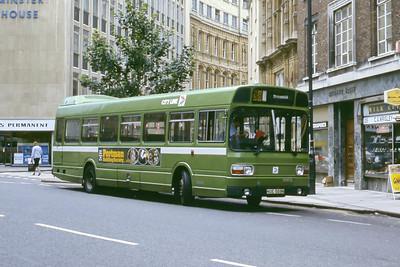 Bristol Omnibus Co 1464 Baldwin St Bristol Aug 85