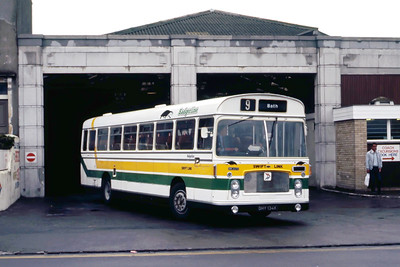 Badgerline 2072 Weston Super Mare Bus Stn May 86