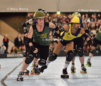 Bay Area Derby Girls Battle it Out for Supremacy