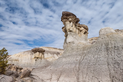 Hoodoos and Nice Clouds