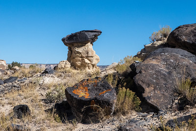 Black Top Hoodoo and Red Lichen