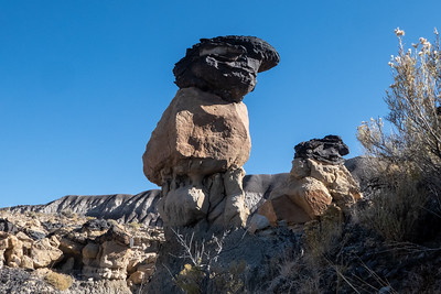 More Black Topped Hoodoos