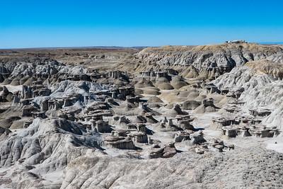 Interesting Badlands Formations
