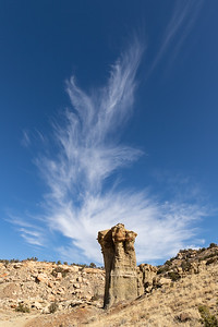 Gorgeous Clouds over Huge Hoodoo