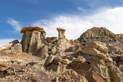 Hoodoo and Various Formations