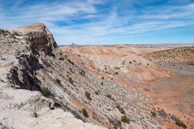 Wild mesa view