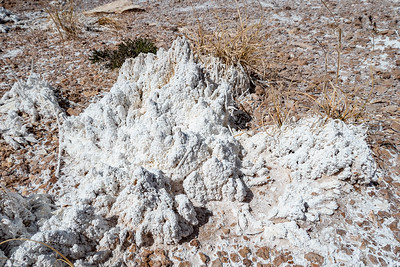 Gypsum salt formations