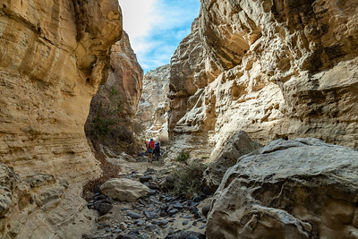 Start of the Slot Canyon