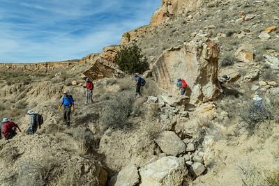 Start of the Tapia Canyon Hike