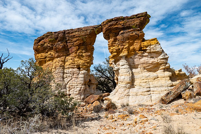 Walk-thru arch