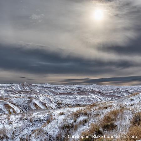 Storm and Sunrise - Badlands National Park