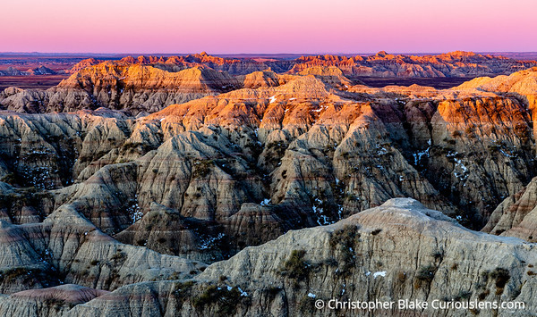 Evening Light - Badlands