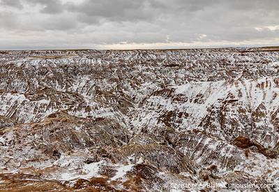 Winter Morning - Badlands NP