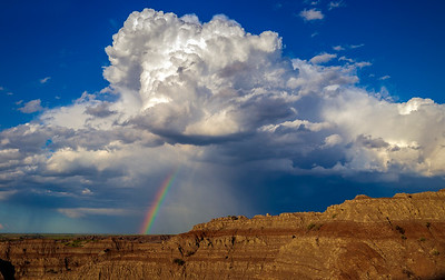 Badlands Rainbow