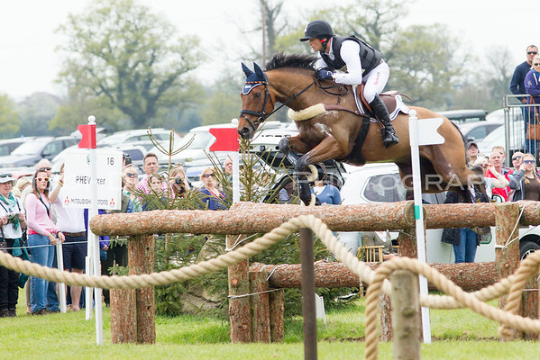 Badminton Horse Trials 2016 - Cross Country