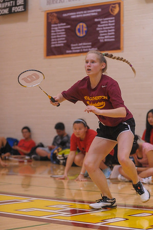 Burlingame Co-ed Badminton vs. M-A 2015-03-10